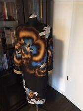 100% Seide Original Roberto Cavalli Unikat Kleid Party m Pailletten hochwertig