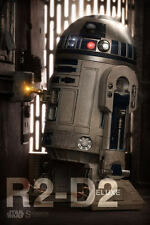 Sideshow Star Wars R2-D2 Deluxe 1/6 Scale Figure Droid Luke Leia C3PO New