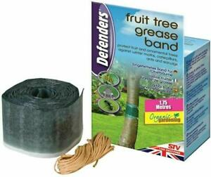 Defenders 1.75 m x 10 cm Fruit Tree Grease Band Poison-Free Insect Protection,