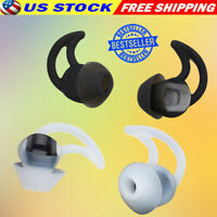 Silicone Ear Tips Ear Buds 3 Pairs BOSE Soundsport Wireless QC30 QC20 Headphones