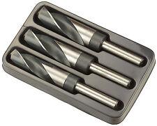 Juego de Brocas Grandes 22 mm - 24 mm - 25 mm HSS para Acero - BGS 8986