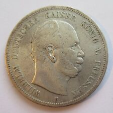 S0131 - Preussen 5 Mark, Wilhelm I, 1876 B, Silber
