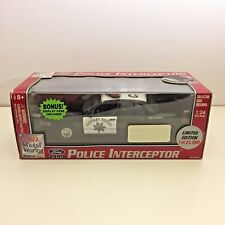 Classic Metal Works 1/24 California Highway Patrol Ford Police Interceptor
