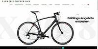 Webprojekt über Fahrräder | Affiliate Webseite | Viele Produkte