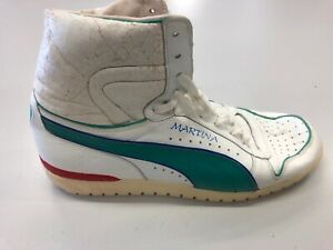 Martina Navratilova tournament worn shoe Puma