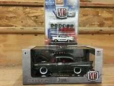 M2 Chase Lot Of 2 Chevy Bel Air - 1:24 Titanium and 1:64 Auto-Drag