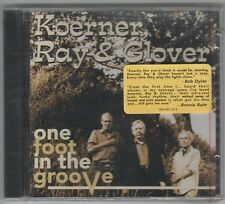 Koerner, Ray & Glover One foot in the groove (US, 1996)  [CD] OVP/cut out