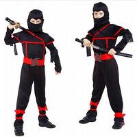 Boys Classic Halloween Costumes Cosplay Costume Martial Arts Kids Ninja Costume