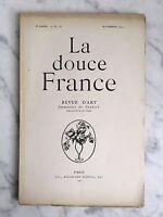 La Dulce Francia Revista de Arte Emmanuel Thubert N º 16 París 1919