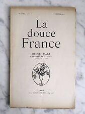 La douce France Revue d'art Emmanuel Thubert n°16 Paris 1919