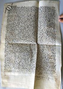 Manuscript 1482 Villaescusa Burgos Spain Large parchment vellum 15th century