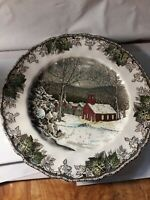 Johnson Brothers the schoolhouse Friendly Village dinner plate 10 inches