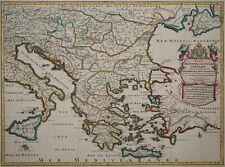Tabula Nova Imperii Turcarum in Europa -Osmanisches Reich, Ottoman -Jaillot 1705