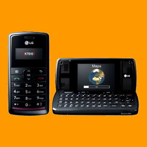 "LG KT610 2MP 2.4"" QVGA BT GPS Full QWERTY S60 Symbian 3G HSDPA Cell Phone Mobile"