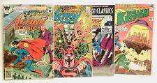 Superman / Action Comics Lot (4) - World of Krypton - Vintage 1979 1980s DC