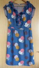 Boden Spotted Sleeveless Dresses Midi for Women
