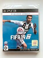FIFA 2019 Legacy PS3 Sony PlayStation 3 Russian Cover Brand NEW Factory Sealed