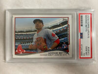 2014 Topps Update Mookie Betts RC #US301 PSA 10 Gem Mint