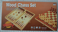 Wooden Backgammon 8-11 Years Board & Traditional Games