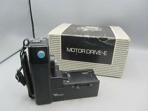 Medium Format Zenza Bronica ETRS Camera Motor Drive Winder E w/ Original Box