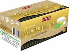 Moringa leaf tea -Morning Boster Detox,Antioxidant,Cleanse,20 TeaBags
