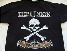 T Shirt The Union : Obsession UK & Ireland Siren's Song 2012 Tour Black Size L