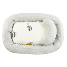 Cotton Baby Bassinet Lounger Bed Newborn Portable Crib Sleep Nest With Pillow