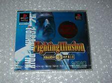 La lucha contra la ilusión Grand Prix K1 (nuevo) (PSX/Playstation Ps1 japonés Importado JP