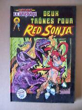 CONAN LE BARBARE Deux Trones Pour RED SONJA #12 1981 Marvel  [G323] BUONO