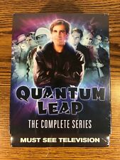 Quantum Leap Complete Series Dvd 18-Disk Set 76 Hours + Brand New Sci-Fi Tv Show
