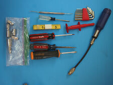 SNAP ON CRAFTSMAN HUSKY SCREWDRIVER LOT AND TOOL LOT AS SHOWN