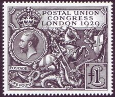 London 2010 Royal Mail Postal Union Congress Reproduction 1929 £1 Stamp ( PUC )
