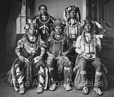 "John K. Hillers Photo, ""Oto Delegation"" native Americans, 1881"