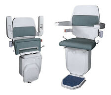 CURVED RECONDITIONED 90º STAIRLIFT FITTED 12 MTHS GUARANTEE MOBILITY EQUIPMENT