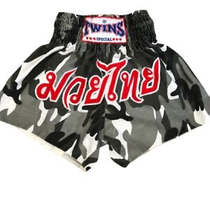 Twins Muay Thai Fight Girl Shorts S