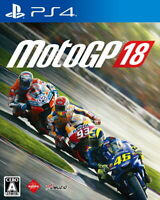 MotoGP 18 Sony Playstation 4 PS4 Video Games From Japan Tracking NEW