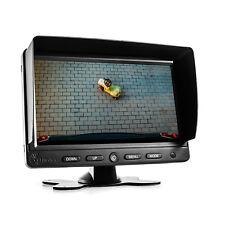 """7"""" Monitor TFT carmedien cm-nmr7 schermo per fotocamera posteriore fotocamera di sistema"""