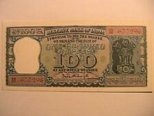 1970 India 100 Rupees Choice CU Crisp Unc Currency Indian Asian Banknote p62a