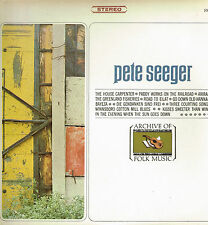 "LP 12"" 30cms: Pete Seeger: the house carpenter. everest"