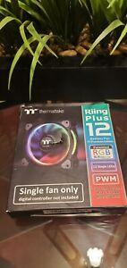 Thermaltake CL-F059-PL12SW-A Riing Plus 12 LED RGB Radiator Fan TT Premium Editi