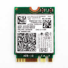 Intel Dual band Wireless 7260 7260NGW BN BT4.0 NGFF 433Mbps Wifi Card 04X6009