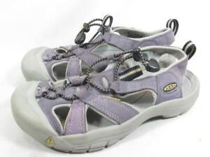 KEEN Venice Purple Suede Sandal Girls youth size 5