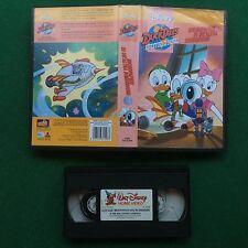 VHS Walt Disney DUCKTALES MICROPARERI DI UN'ALTRA DIMENSIONE (ITA 1996) VS 4598