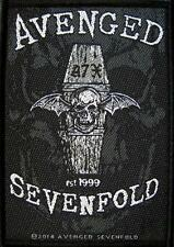 "AVENGED SEVENFOLD AUFNÄHER / PATCH # 10 ""EST. 1999"""