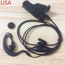 Clip Ear Headset Earpiece Mic for MOTOROLA MTX-B7 XTS1500 XTS2500 XTS3000
