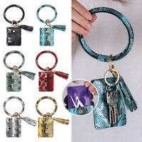 Skin Bracelet Keychain Bangle Wallets ID Card Holder Wristlet Wallet Coin Purse