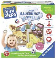 Ravensburger 04510 Ministeps Unser Bauernhof-Spiel   NEUHEIT 2017 OVP,