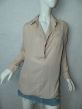 MISGUIDED Shirt Pink Light Weight Long Tunic Size 2