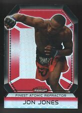 2011 TOPPS UFC FINEST ATOMIC REFRACTOR JON BONES JONES  DIE CUT 44/88