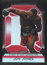 2011 TOPPS UFC FINEST ATOMIC REFRACTOR JON BONES JONES  DIE CUT 44/88